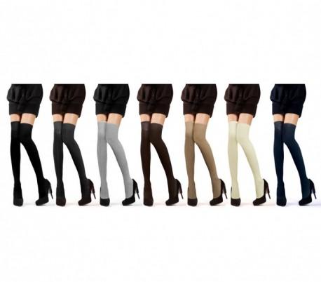 Pack 6 piezas de medias hasta la rodilla / Talla única en diferentes colores mod. PARIGINE