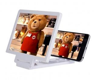 "Marco con lupa para agrandar la pantalla del teléfono móvil - Monitor 7,5""/ x3 ZOOM"