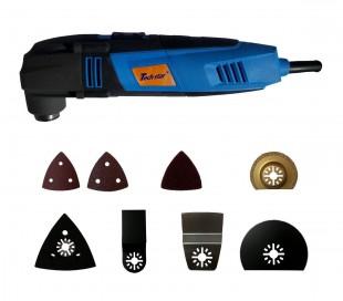 Herramienta multifunción incluye 15 accesorios para el lijado / Herramienta eléctrica para el taller y bricolaje - KINZO