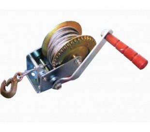 Cabestrante manual 1000 libras cable de acero 10 m