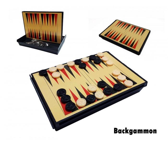 Juego De Mesa 5 En 1 Ajedrez Damas Backgammon 3 En Raya