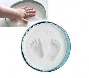 Kit de yeso para manos y pies de bebé con marco
