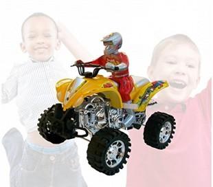 Moto QUAD MAX con 4 ruedas grandes luces y sonidos 361501