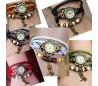 Reloj colgante buho analógico relojes pulsera en varios colores