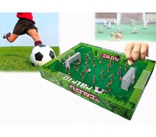 Juego de fútbol portátil con muelles para facilitar el movimiento de los jugadores