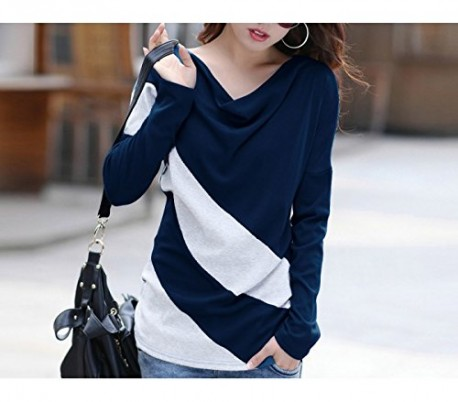 Camiseta camisa sueter jersey a rayas moda femenina mujer chica temporada primavera mod. ECLIPSE