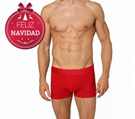 Boxer de nochevieja para hombre dasher color rojo ropa for Ropa interior sexi masculina