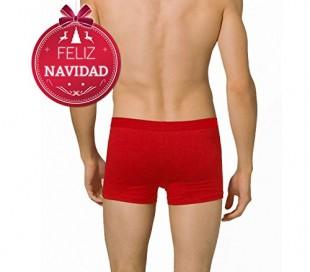 Boxer de Nochevieja para hombre DASHER (color rojo) - Ropa interior masculina