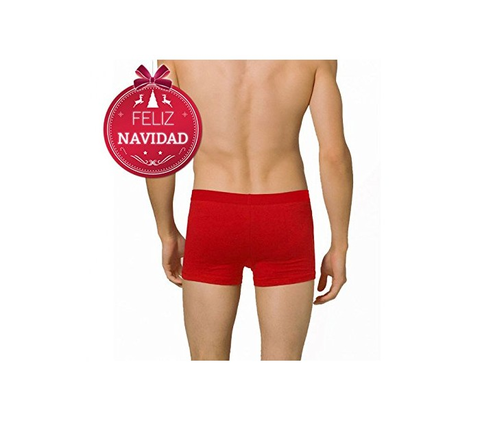 Boxer de nochevieja para hombre dasher color rojo ropa for Ropa interior masculina