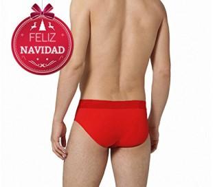 Slip de Nochevieja para hombre VIXEN (color rojo) - Ropa interior masculina