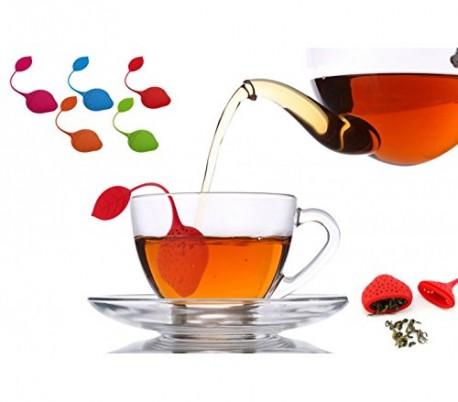Infusor de té en forma de fresa - Accesorio para la cocina