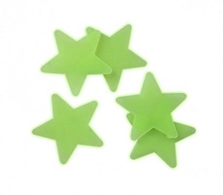 Pack de 24 piezas - Estrellas, planetas y luna autoadhesivas fluorescentes - Decorativas para la habitación