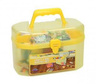 Kit decoupage CRAFT ART CASE - con 127 accesorios 52087 - Estimulación de la creatividad infantil