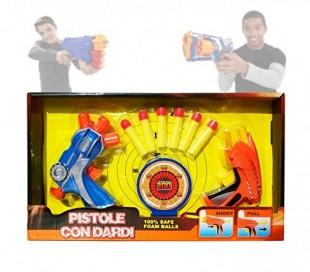 Juego infantil de disparos (Incluye balas y diana) 2608