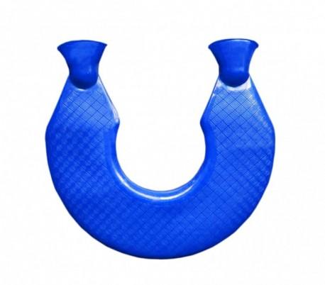 3825a2088 Bolsa de agua caliente ROSA para remediar el dolor de cuello y cervicales -  Salud y