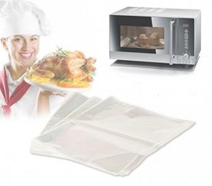 Kit de 3 bolsas para la cocción (35 x 43 cm) - Óptimo para una alimentación saludable