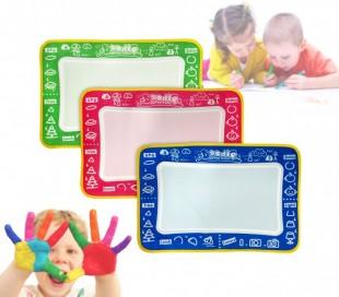 Pizarra mágica WATER MAGIC para colorear con marcador de agua (45 x 30 cm) en varios colores - Juguete para niño y niña