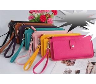 Monederos ecopiel de moda varios colores mod. patrick