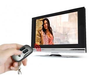 Llavero 2 en 1 con función mando a distancia para la TV - Color plata 1092