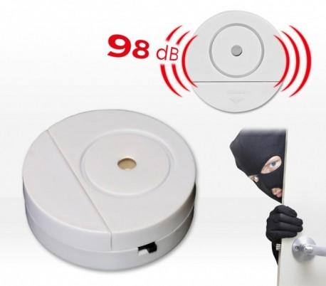 Alarma inalámbrica (98 dB) para puertas y ventanas SAFE ALARM - Protección y seguridad antirrobo para el hogar