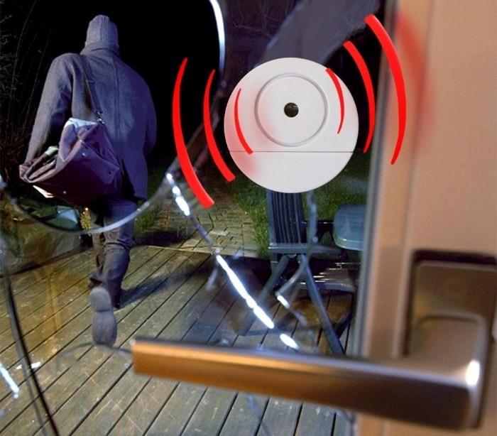 Alarma inal mbrica 98 db puertas ventanas safe alarm for Puertas para el hogar