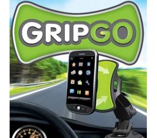 Soporte universal grip go auto smartphone gps con ventosa iphone samsung apple