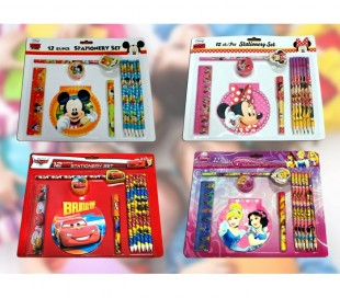 Set escolar STATIONARY 20131089 con personajes DISNEY