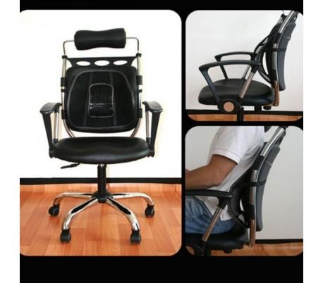 Silla ergonómica respaldo y asiento de coche
