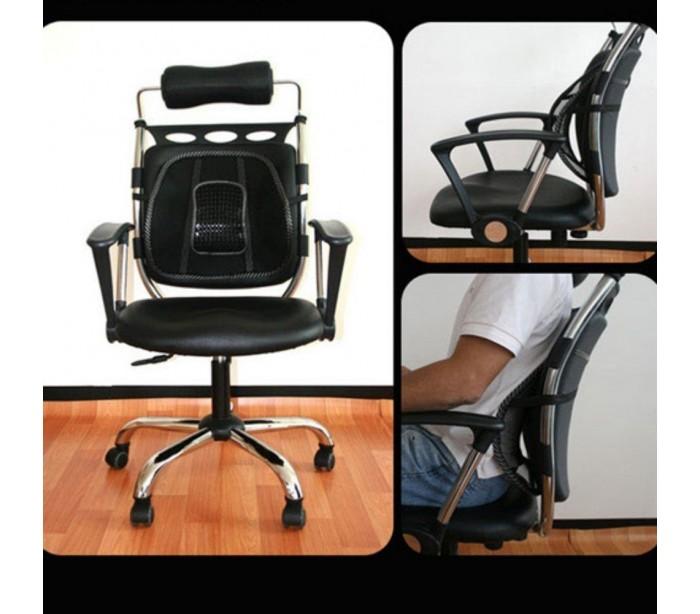 Respaldo ergon mico para silla para mejorar la postura y aliviar dolor - Sillas para la espalda ...