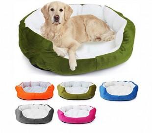 Cama para perros - gatos - y mascotas en diferentes colores (50 x 40 x 15 cm)