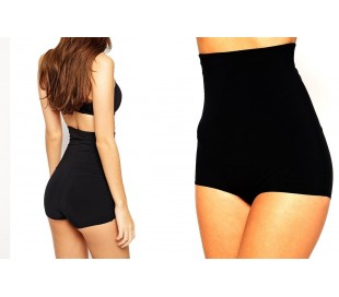 Blusa de talle ancho hecho de gasa y con estampado floral negro 007 - Moda femenina para la mujer