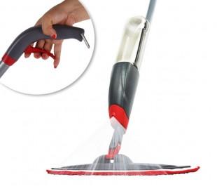 Mopa pulverizadora en spray (incluye paño de microfibra lavable)