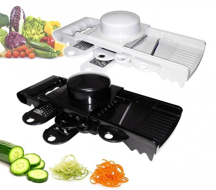 Multi rallador 7 piezas con hojas de acero inoxidable for Accesorios para cocina en acero inoxidable