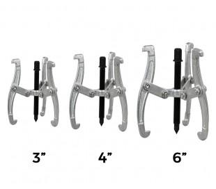 Set de 3 extractores de cojinetes de 3 garras (75 - 100 - 150 mm)