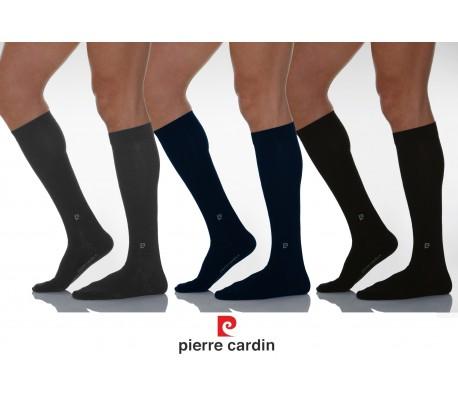 PC 100 Pack de 3 pares de calcetines de COLORES hechos de algodón PIERRE CARDIN - Ropa interior masculina