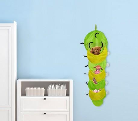 447104 Colgador organizador de juguetes y objetos 25 x 110 cm