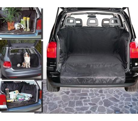 Funda impermeable para el interior del coche (145 x 145 cm) color negro - Para el transporte de animales y materiales