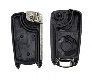 Carcasa para llave de coche con control remoto compatible con OPEL (3 botones)