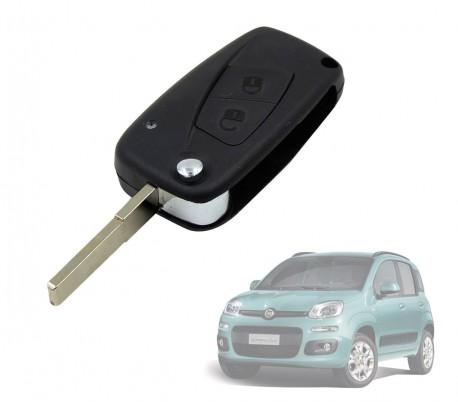 Carcasa para llave de coche con control remoto compatible con FIAT (2 botones)
