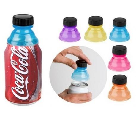 Pack 6 unidades de tapones para lata (colores surtido) / Caps de soda