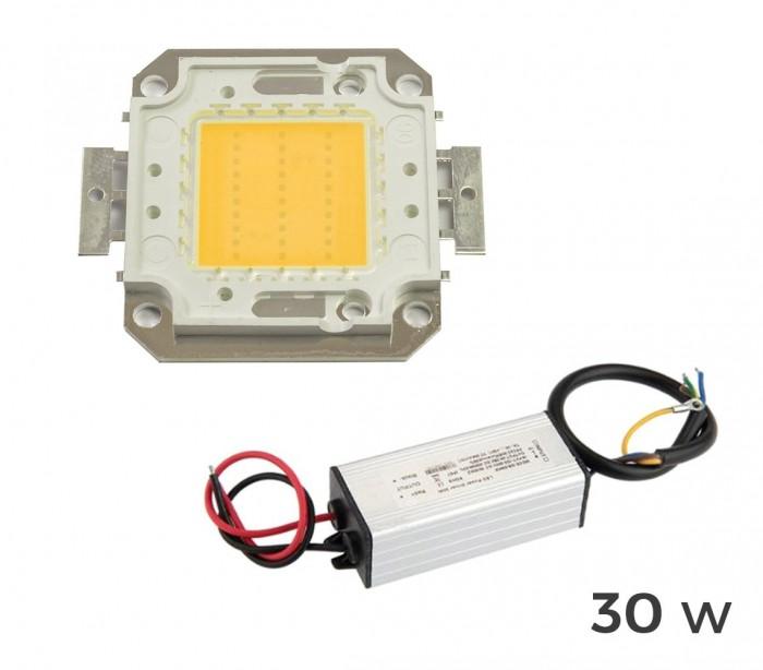 Kit 2 piezas para la sustituci n de la placa led led for Focos led para terrazas