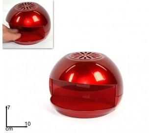 1273 DOLLY - Secador portátil de esmalte de uñas (color rojo)