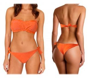 KL281 FLAVOR – Bikini para la mujer con motivo de flores (sujetador y braguitas a conjunto)