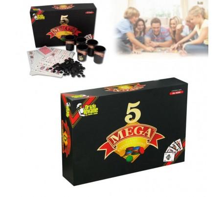 MEGA 5 - Juego de mesa con cartas (de 2 a 13 jugadores)