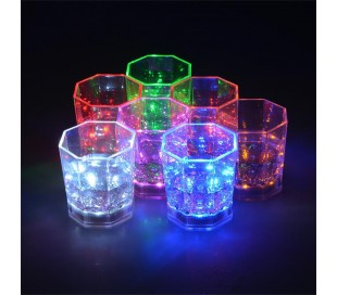 Copa LED luminosa para cocktail – Accesorio indispensable para eventos y fiestas