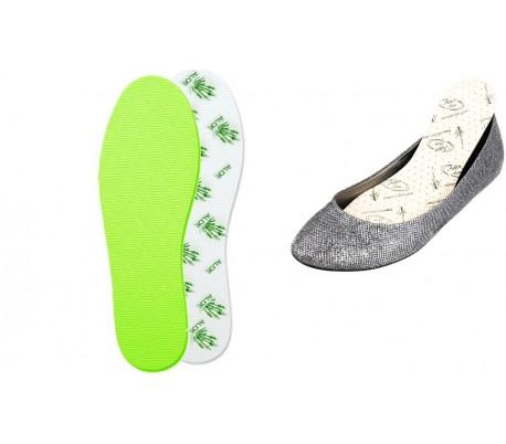 CD11537 plantillas zapatos ANTIBACTERIANO Aloe Vera protección hongos
