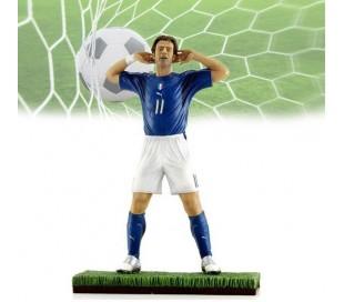 Figura futbolista ALBERTO GILARDINO escala 1:9 /16 cm (Edición limitada)