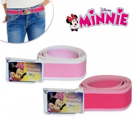 305882 Cinturón infantil para niña con motivo de MINNIE MOUSE (75 cm de longitud)