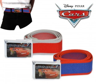 305885 Cinturón infantil para niño con motivo de CARS (75 cm)