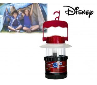 Lámpara infantil de camping con funcionamiento a pilas – motivo de CARS